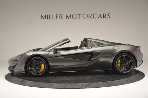 Used 2019 McLaren 570S Spider Convertible for sale Sold at Alfa Romeo of Westport in Westport CT 06880 3