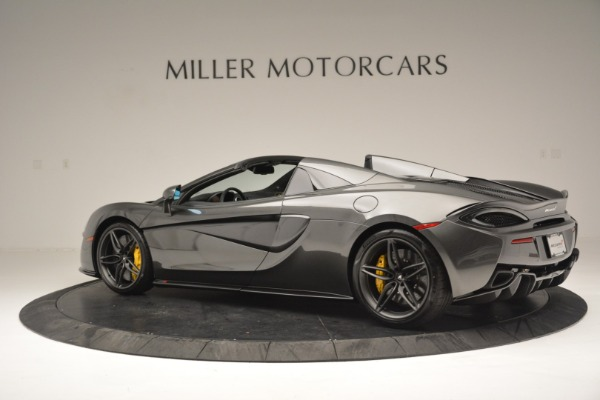 Used 2019 McLaren 570S Spider Convertible for sale Sold at Alfa Romeo of Westport in Westport CT 06880 4