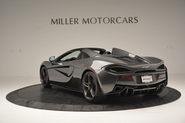 Used 2019 McLaren 570S Spider Convertible for sale Sold at Alfa Romeo of Westport in Westport CT 06880 5