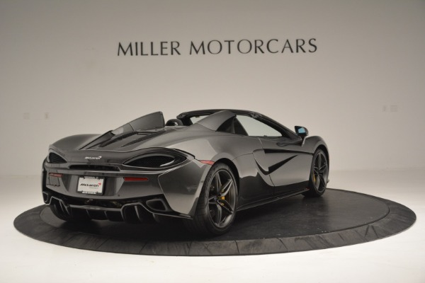 Used 2019 McLaren 570S Spider Convertible for sale Sold at Alfa Romeo of Westport in Westport CT 06880 7