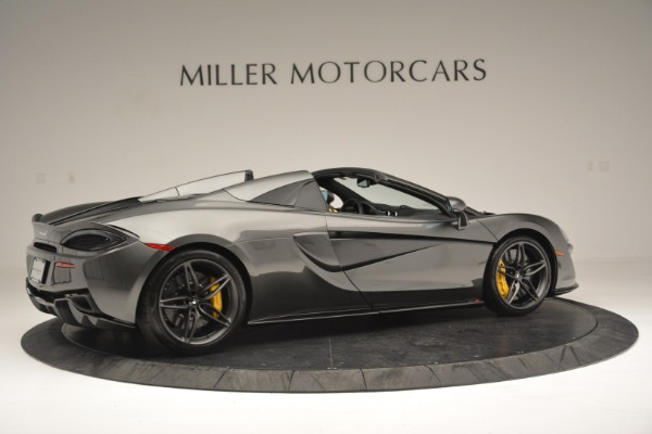 Used 2019 McLaren 570S Spider Convertible for sale Sold at Alfa Romeo of Westport in Westport CT 06880 8