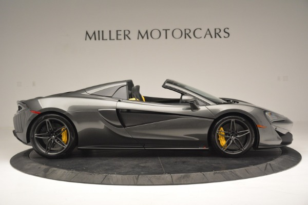 Used 2019 McLaren 570S Spider Convertible for sale Sold at Alfa Romeo of Westport in Westport CT 06880 9