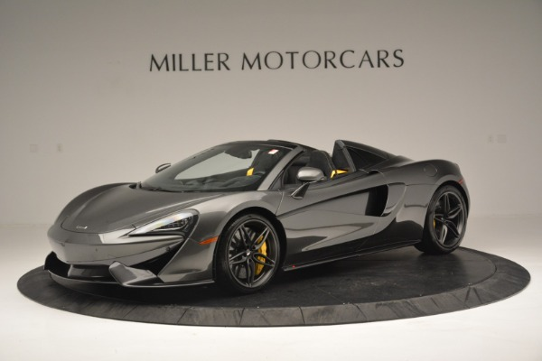 Used 2019 McLaren 570S Spider Convertible for sale Sold at Alfa Romeo of Westport in Westport CT 06880 1