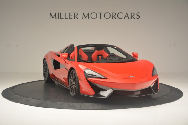 New 2019 McLaren 570S Spider Convertible for sale Sold at Alfa Romeo of Westport in Westport CT 06880 11