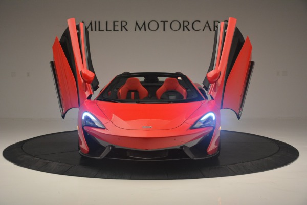 New 2019 McLaren 570S Spider Convertible for sale Sold at Alfa Romeo of Westport in Westport CT 06880 13