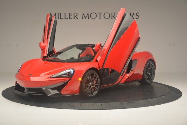 New 2019 McLaren 570S Spider Convertible for sale Sold at Alfa Romeo of Westport in Westport CT 06880 14