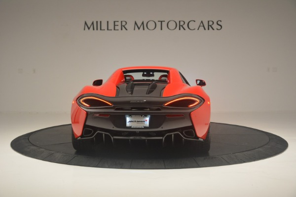 New 2019 McLaren 570S Spider Convertible for sale Sold at Alfa Romeo of Westport in Westport CT 06880 17