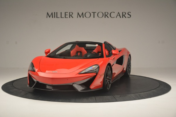 New 2019 McLaren 570S Spider Convertible for sale Sold at Alfa Romeo of Westport in Westport CT 06880 2