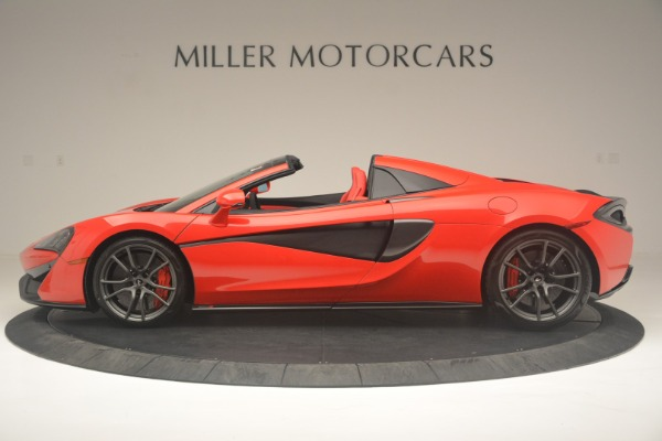 New 2019 McLaren 570S Spider Convertible for sale Sold at Alfa Romeo of Westport in Westport CT 06880 3