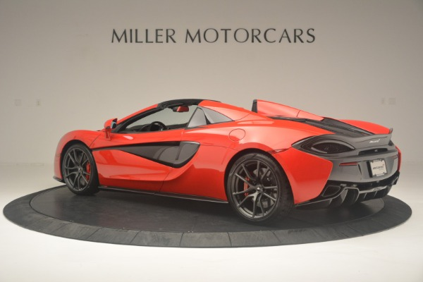 New 2019 McLaren 570S Spider Convertible for sale Sold at Alfa Romeo of Westport in Westport CT 06880 4