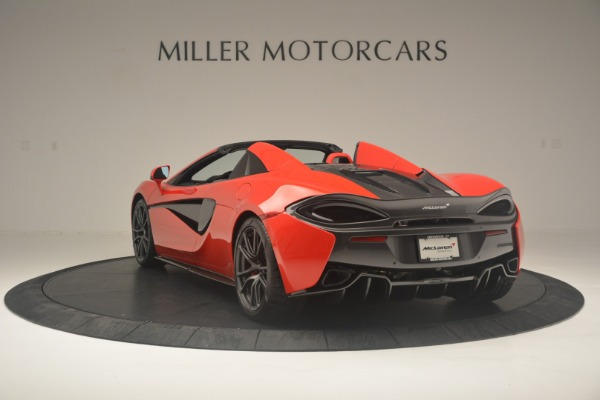 New 2019 McLaren 570S Spider Convertible for sale Sold at Alfa Romeo of Westport in Westport CT 06880 5