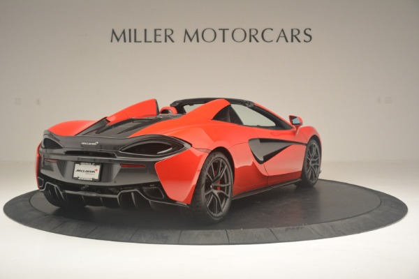 New 2019 McLaren 570S Spider Convertible for sale Sold at Alfa Romeo of Westport in Westport CT 06880 7