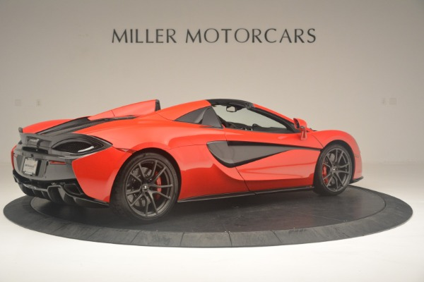 New 2019 McLaren 570S Spider Convertible for sale Sold at Alfa Romeo of Westport in Westport CT 06880 8