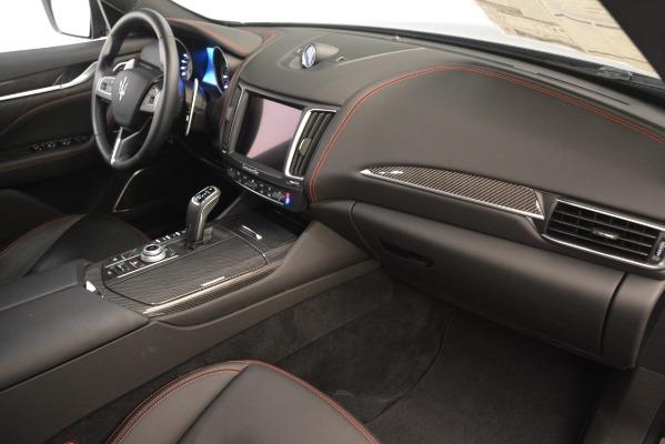 New 2019 Maserati Levante Q4 GranLusso for sale Sold at Alfa Romeo of Westport in Westport CT 06880 22