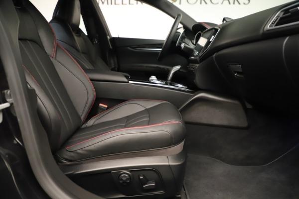 Used 2019 Maserati Ghibli S Q4 GranSport for sale $64,900 at Alfa Romeo of Westport in Westport CT 06880 23