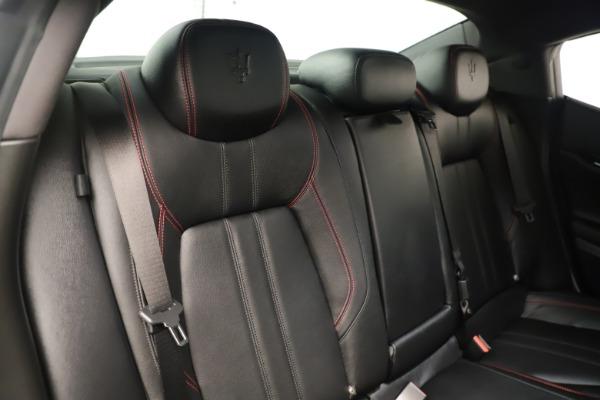 Used 2019 Maserati Ghibli S Q4 GranSport for sale $64,900 at Alfa Romeo of Westport in Westport CT 06880 26