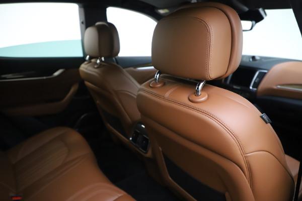 Used 2019 Maserati Levante Q4 GranLusso for sale Sold at Alfa Romeo of Westport in Westport CT 06880 28