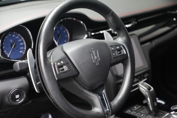 Used 2019 Maserati Quattroporte S Q4 GranLusso for sale $68,900 at Alfa Romeo of Westport in Westport CT 06880 17