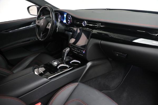 Used 2019 Maserati Quattroporte S Q4 GranLusso for sale $68,900 at Alfa Romeo of Westport in Westport CT 06880 26