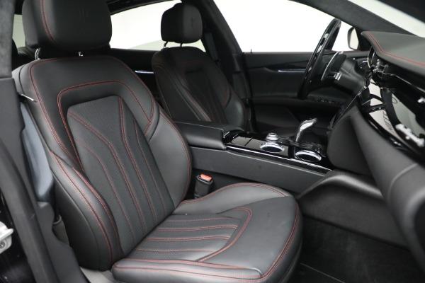 Used 2019 Maserati Quattroporte S Q4 GranLusso for sale $68,900 at Alfa Romeo of Westport in Westport CT 06880 28