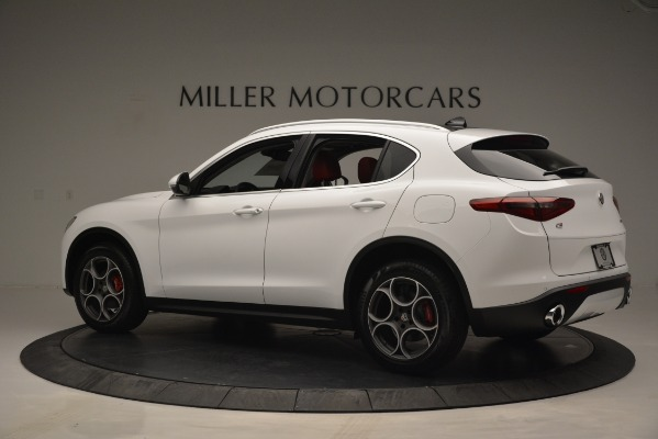 New 2019 Alfa Romeo Stelvio Q4 for sale Sold at Alfa Romeo of Westport in Westport CT 06880 4
