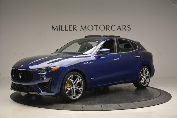 New 2019 Maserati Levante Q4 GranSport for sale $90,370 at Alfa Romeo of Westport in Westport CT 06880 2