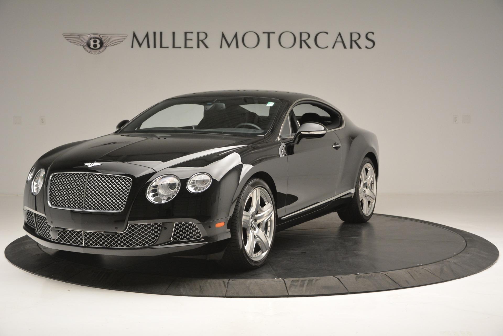 Used 2012 Bentley Continental GT W12 for sale Sold at Alfa Romeo of Westport in Westport CT 06880 1