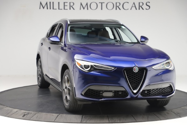 Used 2019 Alfa Romeo Stelvio Q4 for sale Sold at Alfa Romeo of Westport in Westport CT 06880 11