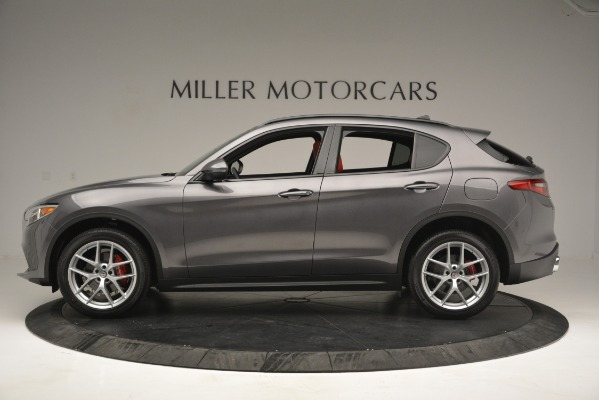 New 2019 Alfa Romeo Stelvio Ti Sport Q4 for sale Sold at Alfa Romeo of Westport in Westport CT 06880 3
