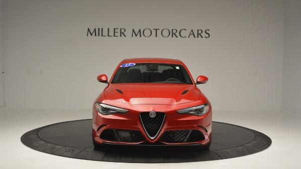 Used 2017 Alfa Romeo Giulia Quadrifoglio for sale Sold at Alfa Romeo of Westport in Westport CT 06880 13