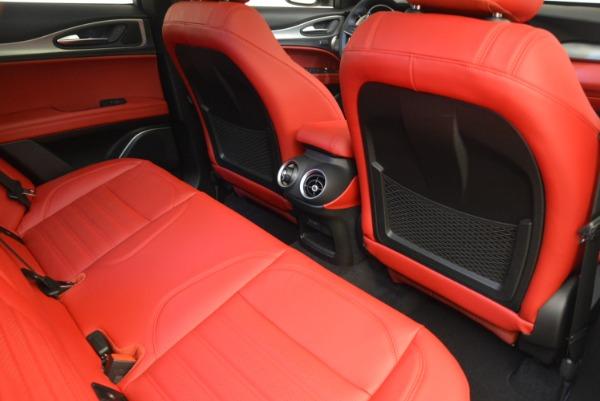 New 2019 Alfa Romeo Stelvio Ti Sport Q4 for sale Sold at Alfa Romeo of Westport in Westport CT 06880 22