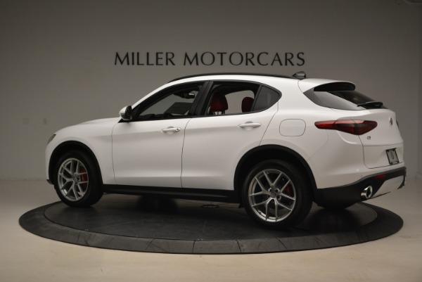 New 2019 Alfa Romeo Stelvio Ti Sport Q4 for sale Sold at Alfa Romeo of Westport in Westport CT 06880 4