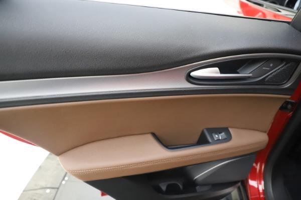 New 2019 Alfa Romeo Stelvio Ti Sport Q4 for sale Sold at Alfa Romeo of Westport in Westport CT 06880 21