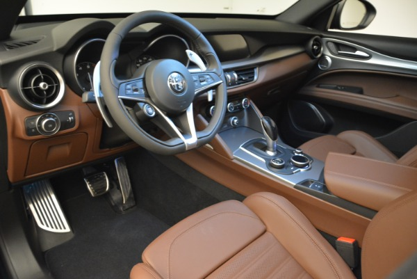 New 2019 Alfa Romeo Stelvio Ti Sport Q4 for sale Sold at Alfa Romeo of Westport in Westport CT 06880 13