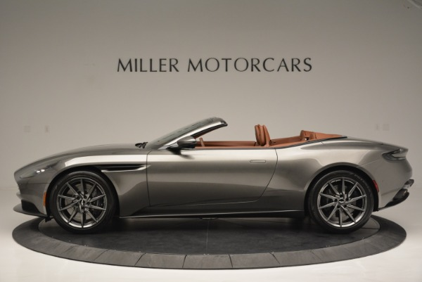 Used 2019 Aston Martin DB11 V8 Convertible for sale Sold at Alfa Romeo of Westport in Westport CT 06880 3