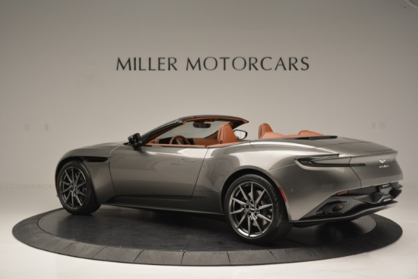 Used 2019 Aston Martin DB11 V8 Convertible for sale Sold at Alfa Romeo of Westport in Westport CT 06880 4