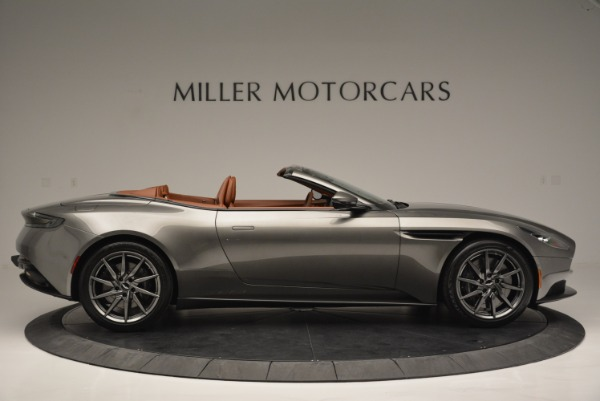 Used 2019 Aston Martin DB11 V8 Convertible for sale Sold at Alfa Romeo of Westport in Westport CT 06880 9
