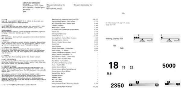 Used 2018 McLaren 720S Performance for sale Sold at Alfa Romeo of Westport in Westport CT 06880 23