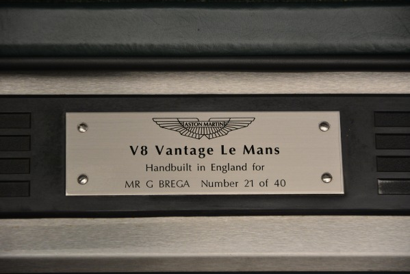 Used 1999 Aston Martin V8 Vantage Le Mans V600 Coupe for sale $550,000 at Alfa Romeo of Westport in Westport CT 06880 19