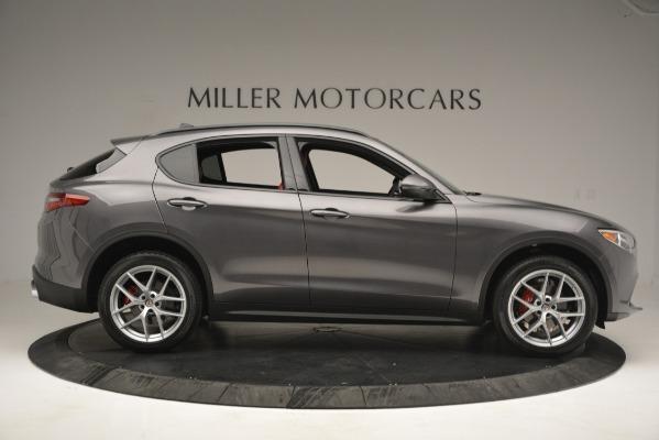 New 2019 Alfa Romeo Stelvio Sport Q4 for sale Sold at Alfa Romeo of Westport in Westport CT 06880 9