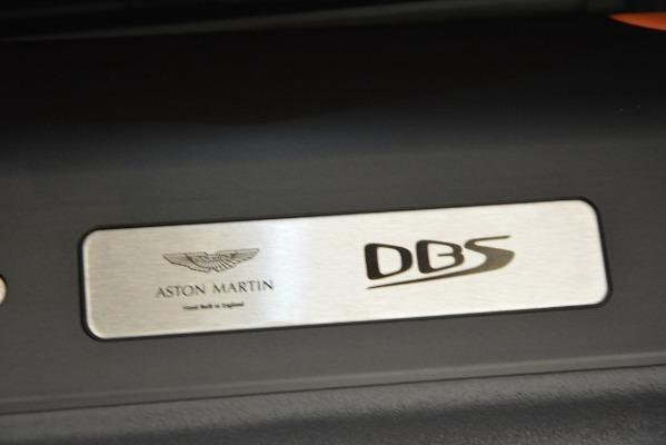 Used 2019 Aston Martin DBS Superleggera Coupe for sale $265,900 at Alfa Romeo of Westport in Westport CT 06880 27