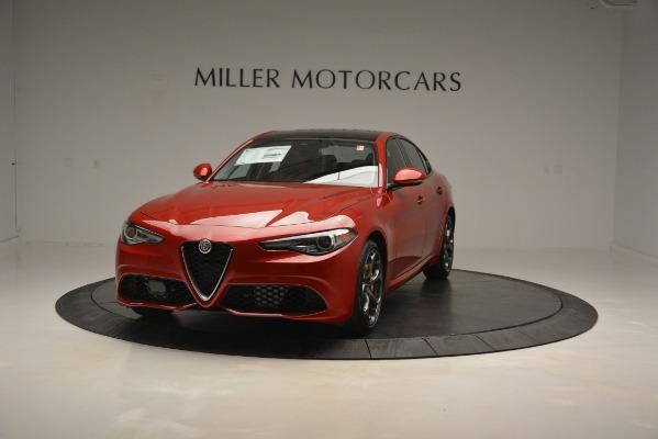 New 2019 Alfa Romeo Giulia Ti Sport Q4 for sale Sold at Alfa Romeo of Westport in Westport CT 06880 1