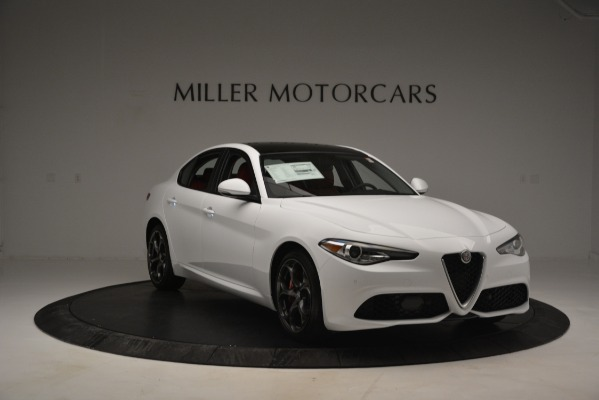 New 2019 Alfa Romeo Giulia Ti Sport Q4 for sale Sold at Alfa Romeo of Westport in Westport CT 06880 11