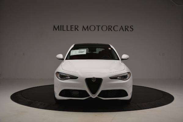 New 2019 Alfa Romeo Giulia Ti Sport Q4 for sale Sold at Alfa Romeo of Westport in Westport CT 06880 12
