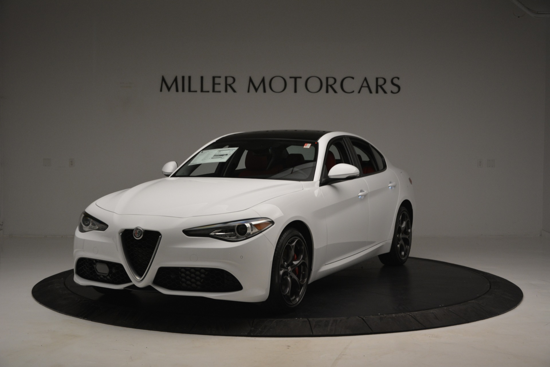 New 2019 Alfa Romeo Giulia Ti Sport Q4 for sale Sold at Alfa Romeo of Westport in Westport CT 06880 1