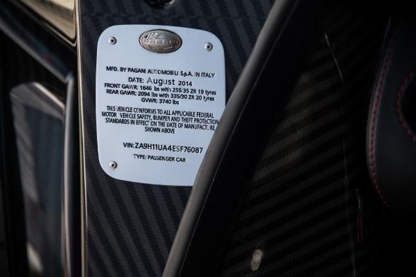 Used 2014 Pagani Huayra Tempesta for sale Call for price at Alfa Romeo of Westport in Westport CT 06880 25
