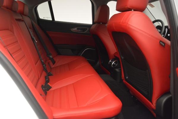 New 2019 Alfa Romeo Giulia Ti Sport Q4 for sale Sold at Alfa Romeo of Westport in Westport CT 06880 27
