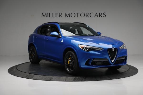 New 2019 Alfa Romeo Stelvio Quadrifoglio for sale Sold at Alfa Romeo of Westport in Westport CT 06880 11