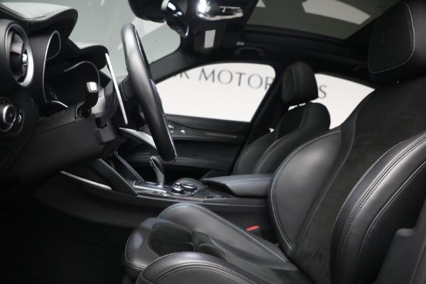 New 2019 Alfa Romeo Stelvio Quadrifoglio for sale Sold at Alfa Romeo of Westport in Westport CT 06880 14