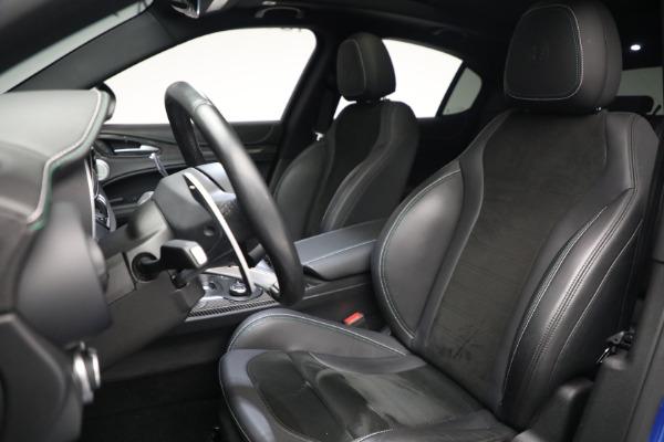 New 2019 Alfa Romeo Stelvio Quadrifoglio for sale Sold at Alfa Romeo of Westport in Westport CT 06880 15